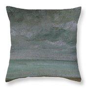 Brighton Beach Throw Pillow by John Constable