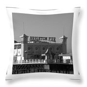 Brighton Old And New Throw Pillow