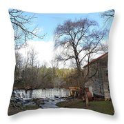 Brightwell's Mill 4 Throw Pillow