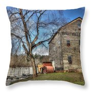 Brightwell's Mill Throw Pillow
