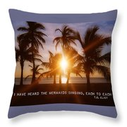 Brilliance Quote Throw Pillow