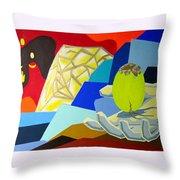 Brilliant Creation Throw Pillow