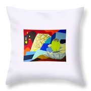 Brilliant Creation Throw Pillow
