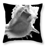 Brilliant Drupe In Black And White Throw Pillow