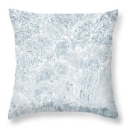Brilliant Shine. Series Ethereal Blue Throw Pillow