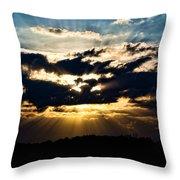 Brilliant Sunset Throw Pillow