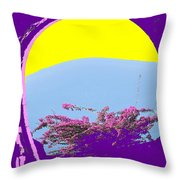 Brimstone Gate Throw Pillow