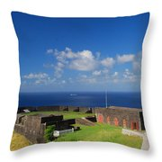Brimstone Hill Fortress Throw Pillow