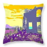 Brimstone Sunset Throw Pillow