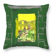 Brimstone Window Throw Pillow
