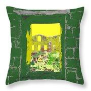 Brimstone Window Throw Pillow