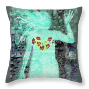 Bring Love To The Universe Throw Pillow