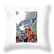 Bring Out The Clowns Throw Pillow
