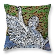 Bringer Of Colored Light Throw Pillow