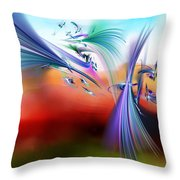 Bringing In The Light Throw Pillow