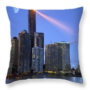 Brisbane 10 Throw Pillow