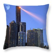 Brisbane 11 Throw Pillow