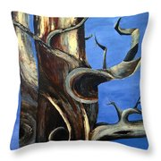 Bristlecone Tree No. 2 Throw Pillow