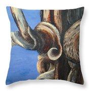 Bristlecone Tree No. 3 Throw Pillow