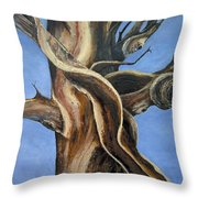 Bristlecone Tree No.4 Throw Pillow
