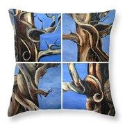Bristlecone Tree Set Throw Pillow