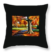 Bristol Fall  Throw Pillow