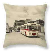 Bristol Greyhound  Throw Pillow
