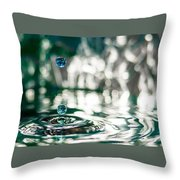 Brith Of Worlds Throw Pillow