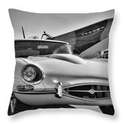 British. Air And Ground Throw Pillow