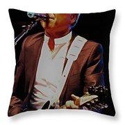 British Rock Star Throw Pillow