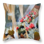 British Soldiers Throw Pillow