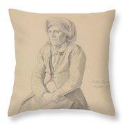 Britta Peersdotter Reisaer, Ullensvang Throw Pillow