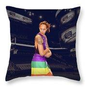 Brittney Griner Lgbt Pride 2 Throw Pillow