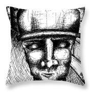 Brixx Bw Throw Pillow