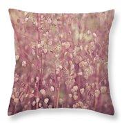 Briza Media Limouzi Decorative Quaking Grass Throw Pillow