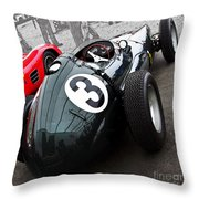 Brm F-1 1958 Throw Pillow