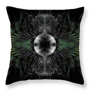 Broach Of Dried Leaves Throw Pillow