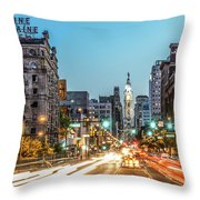 Broad Divine Throw Pillow