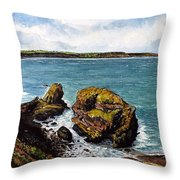 Broad Haven Throw Pillow