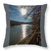 Broad River Throw Pillow