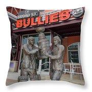 Broad Street Bullies Pub - Clarke And Parant Throw Pillow