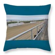 Broadwalk View Throw Pillow