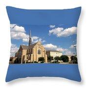Broadway Baptist Throw Pillow