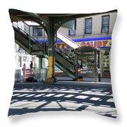 Broadway Bodega Throw Pillow