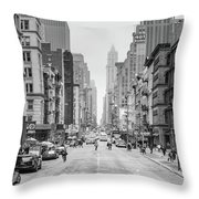 Broadway Chill Throw Pillow