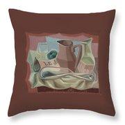 Broc Et Carafe Throw Pillow