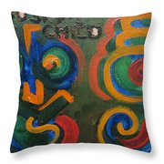 Brodsky's Child Throw Pillow
