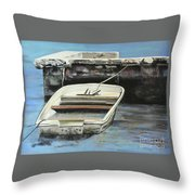 Broke Down In West End Throw Pillow