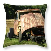 Broken And Confused Throw Pillow