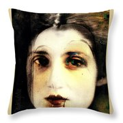 Broken Throw Pillow by Delight Worthyn